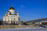 Temple of the Christ the Savior — Stock Photo