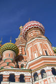 Domes of the Saint Basil cathedral — Стоковое фото