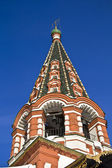 Bell tower of the Saint Basil cathedral — Foto de Stock