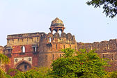 Purana Qila in Delhi — Stock Photo