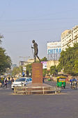 Monument of Gandhis Dandi Marsh in Ahmedabad — Stock Photo