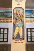 Ancient epic hero Karna in Bharat Mandir — Stock Photo