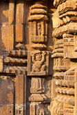 Carving on the temple wall — Foto Stock