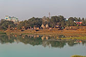 Bindu Sarovar lake — Foto Stock