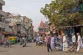 Street scene in Ahmedabad — Stock Photo
