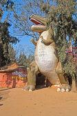 Tyrannosaur in Nandankanan zoo — Stock Photo