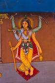 Six-handed Lord Chaitanya — Stock Photo