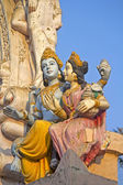 Lakshmi and Vishnu — Foto Stock