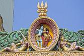 Shiva and Parvati — Stock Photo
