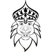 Shri Nrisimha — Stock Vector
