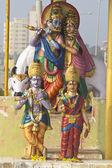 Deities of Radha and Krishna — Photo