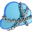Stockfoto: Secure cloud computing