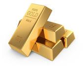 Gold bars concept — Stock Photo