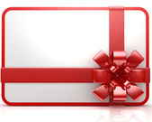 Tarjeta de regalo — Foto de Stock
