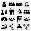 Royalty-Free Stock Imagem Vetorial: Office icons set.