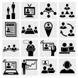 Human resources and management — Imagen vectorial