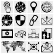 Internet icons set  — Stock Vector