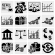 Business and finance icons — Stock Vector #22925434