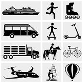 Photo and Media Icons. — Stock Vector
