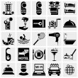 Hotel icons set — Stock Vector #23183274