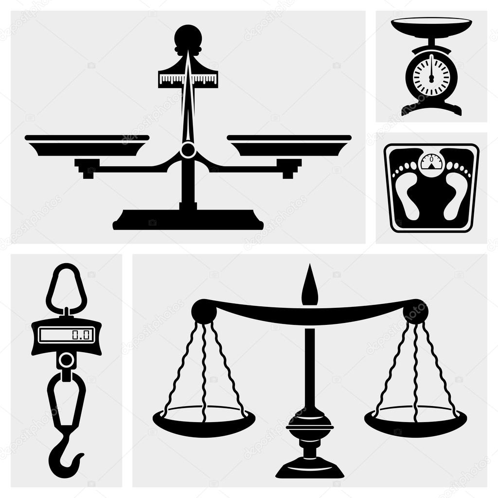 Hook Icon Vector of Scale Vector Icons Set