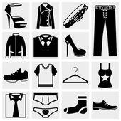 Clothes vector icon. — Stock Vector