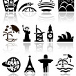 Travel vector icons set — Stock Vector #38727803