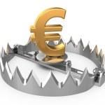 Euro crisis concept — Stock Photo #39022235