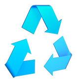 Recykling symbol — Zdjęcie stockowe