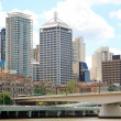 Stock Photo: Brisbane City North Bank