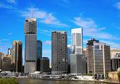 Brisbane City North Bank — Stock Photo