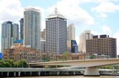 Brisbane City North Bank — Stock Photo
