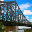 Stock Photo: Storey bridge, Brisbane, Australia