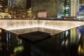 Memorial Fountain, World Trade Center — Stock Photo