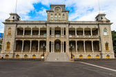 Iolani Palace, Downtown Honolulu, Hawaii — Stock Photo