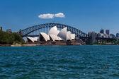 Sydney Opera House and Harbour Bridge — Stock Photo
