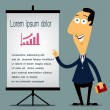 Business presentation — Stock Vector