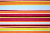 Detail barevné plátno slunečníku. — Stock fotografie