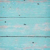 Grunge wood background on green color. — Stock Photo