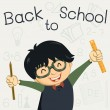 Back to school — Stock Vector #30062107