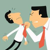 Business threatening — Stock Vector