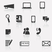Communication icon — Stockvector