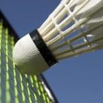 Macro badminton — Stock Photo