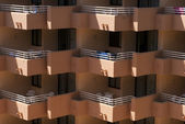 Balconys on Mallorca — Stock Photo