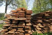 Verse houten planken — Stockfoto