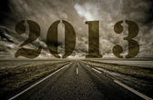 Country road 2013 — Stock Photo