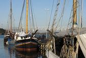 Smal duński port — Zdjęcie stockowe