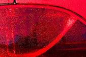 Closeup red car — Stock Photo
