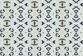 Hoarfrost pattern — Stock Photo