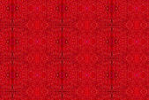 Water on red paint pattern — Stock Photo